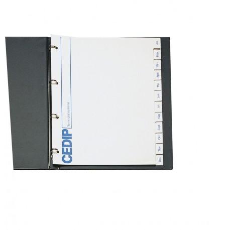 Monatsregister für Terminplaner