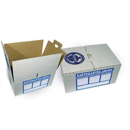 Archivkartons inkl. Aufkleber
