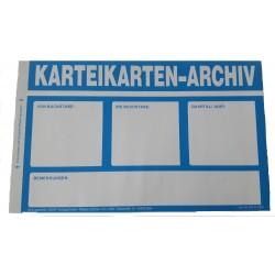 Aufkleber für Archivkartons