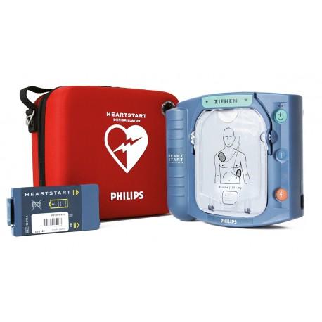 Philips HS1 Defibrillator Komplett-Set