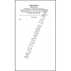 Privatrezepte für Heilpraktiker (B)