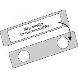Magnethalterung f. Namensschilder