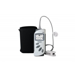 EDAN H100B Pulsoximeter mit Alarm inkl. Schutzhülle