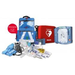 Philips HS1 Defibrillator Rucksack-Set