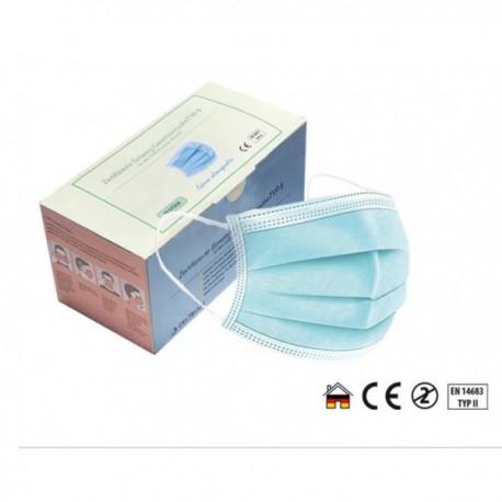 Medizinische Gesichtsmasken Typ II (50 Stk.) Made in Germany