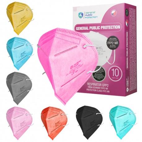 Farbige FFP2 Schutzmasken