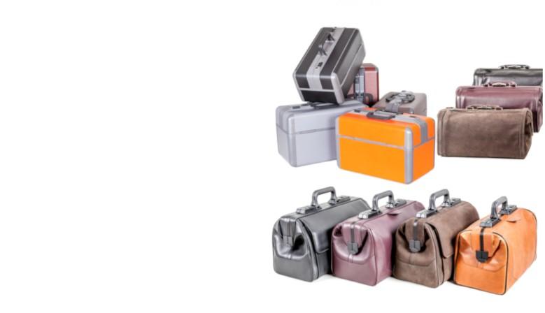 Funktionale Arzttaschen in edlem Design