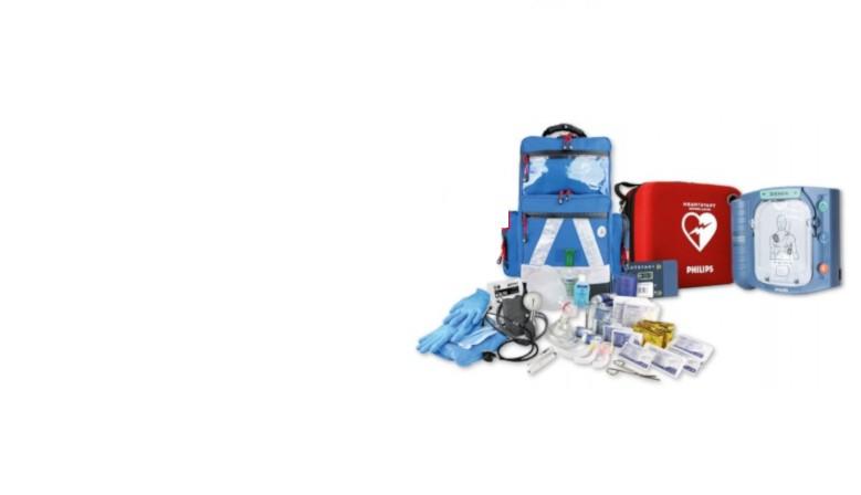 Defibrillator HS1 Philips Rucksack-Set